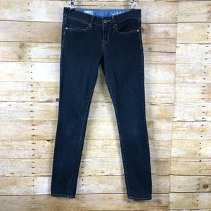 Gap 1969 Dark Wash Always Skinny Jeans Sz 27